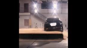 Tesla Model X не смогла перевернуться