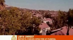 Воздушная атака в Ливии (эксклюзивное видео)