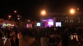 Симферополь всю ночь праздновал присоединение Крыма к Российской Федерации