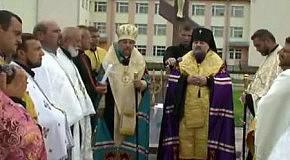 Чорнолізцям 620  Архиєрейське освячення Хреста (відео частина 2)