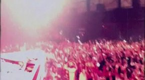 Christian Burns   his 8mm cam at Armin Only  Beirut