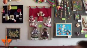 У Трускавці розгорнули художню виставку до Великодня