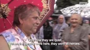 Жители Славянска обзывают друг друга сепаратистами