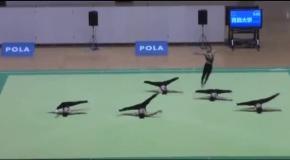Невероятное выступление гимнастов