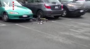 Крушение дронов