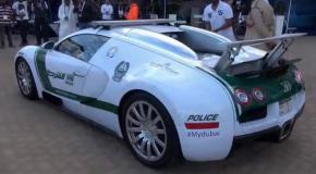 На чём ездит полиция Дубая Dubai Police
