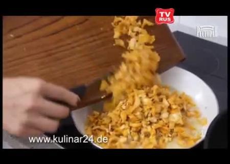Как делать пирожки с капустой видео