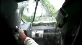 Авария на ралли
