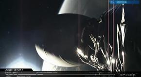 Запуск спутника GovSat-1