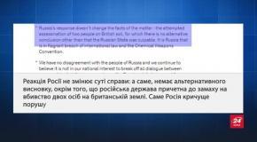 Росія висилає 23 британських дипломатів і припиняє роботу Британської Ради