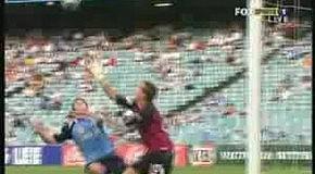 Смешной австралийский футбол :)