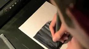 Красивый рисунок фломастером