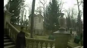 Как Янукович покидал Межигорье: видео эвакуации ценностей (камера №5)