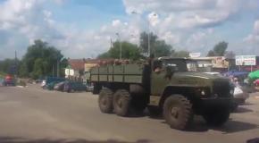 Военная техника на Востоке: танки в городе Изюм