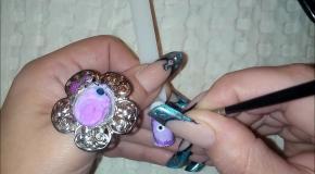 Дизайн ногтей -  Монстры пушистики