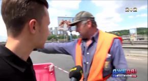 В Киеве рассыпается Южный мост