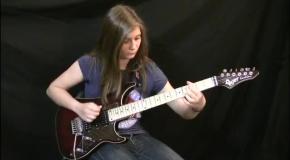 14-летняя девушка взорвала интернет своим гитарным соло