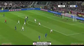 Германия – Аргентина - 2:4 Видео голов товарищеского матча
