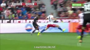 Байер - Гамбург 3:0