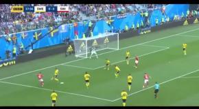 Швеция – Швейцария: видео гола и обзор матча