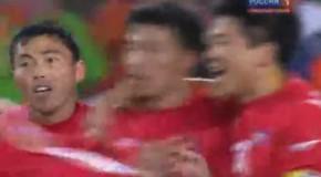 ЧМ 2010 Бразилия-КНДР-2:1 Группа G