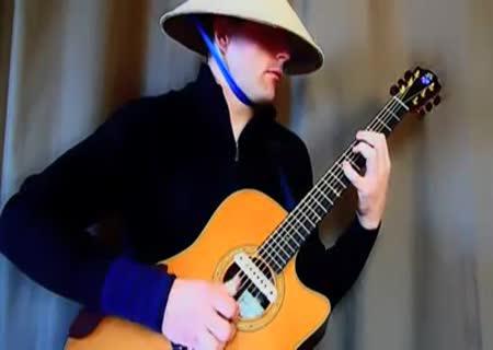 Транс на гитаре видео