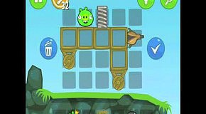 Прохождение Bad Piggies: Hidden Skull 1-25 уровень