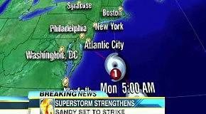 Ураган Сенди Нью-Йорк видео очевидцев