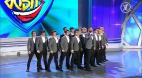 Сборная Дагестана - Приветствие + Домашка (КВН 2013) Финал