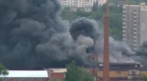 Жуткий Пожар в г. Ивантеевка (11.06.2014)