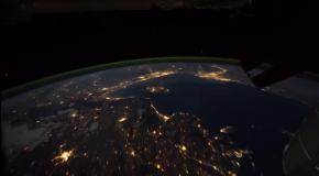 Земля с Международной космической станции - Интервальная съемка