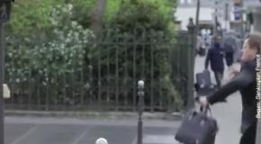 Как в Париже пешеходов проучили