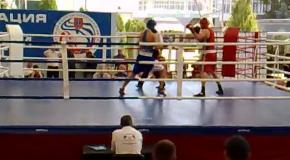 турнир С.Трестина, до 81 кг, Артемчук - Федотов