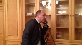 Жириновский позвонил секретарю РНБО Парубию и потребовал увести войска с Донбасса