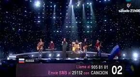Евровидение 2010 Петр Налич(Россия)-Lost And Forgotten первый полуфинал