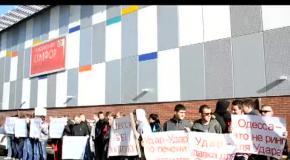 Кличко в Одессе поставил на место проплаченую массовку