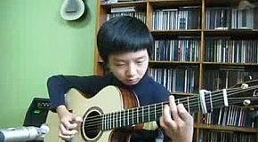 Играешь на гитаре?  А так слабо?