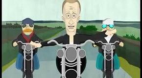 Запрещенный на ТВ мультик о Путине