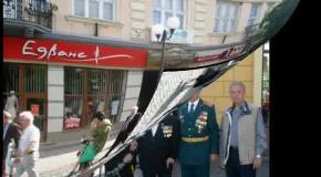 День Перемоги в Мукачево. 9.05.2014 року.