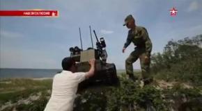 Русский боевой робот: суровый и неудержимый