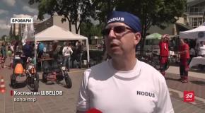 Ветерани, яких скалічила війна з Росією, взяли участь у масштабному велопробізі: фото