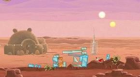 Прохождение Angry Birds: Star Wars 1 Tatooine