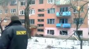 21 01 2015 Стаханов Результат обстрела