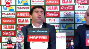 Марселино на пресс-конференции