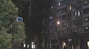 Скандальное видео повреждения памятника Ленину