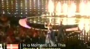 Евровидение 2010 Chanee & N'evergreen(Дания) - In A Moment Like This второй полуфинал