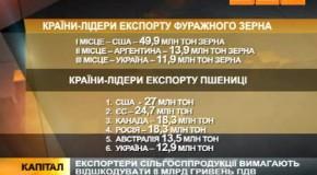 Зернотрейдеры требуют у власти 8 млрд грн