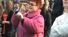 Сатисфэкшн - бабка отжигает