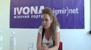 Яна Соломко в гостях редакции IVONA bigmir)net (часть 1)
