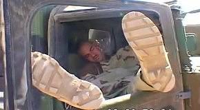 Спящие солдаты в Ираке